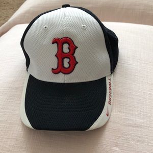 Nike Red Sox baseball hat.